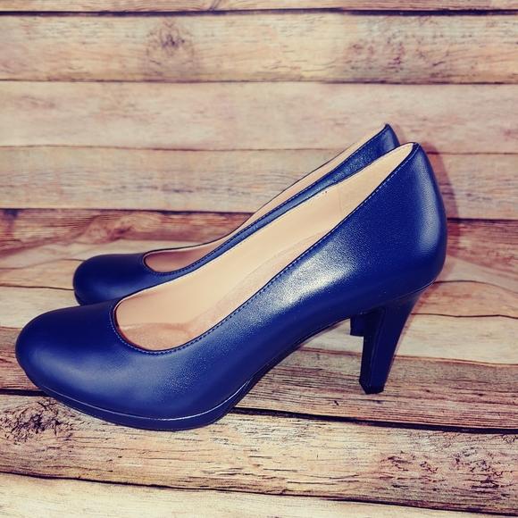 Naturalizer Shoes | Navy Blue Pumps